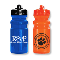 20 oz. Lustre Finish Sports Bottle Biodegradeable Bottle